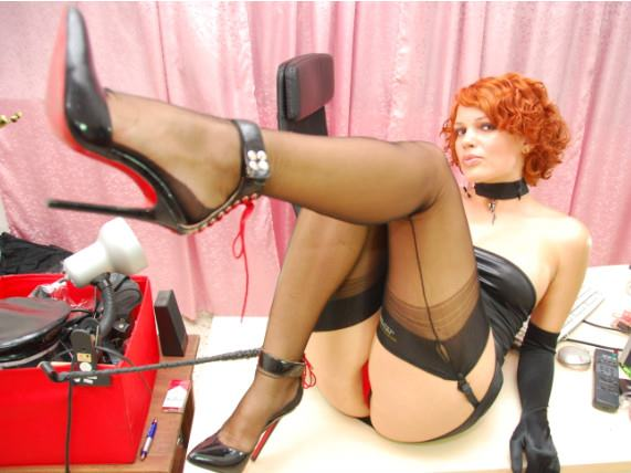 redhead dominatrix cuckolding subs and she loves it