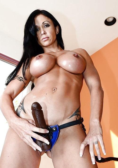 latina pornstar wears dildo